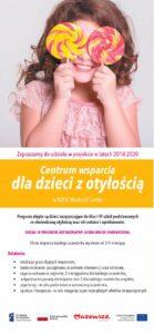 Centrum wsparcia dla dzieci z otyłością pod nowym adresem!